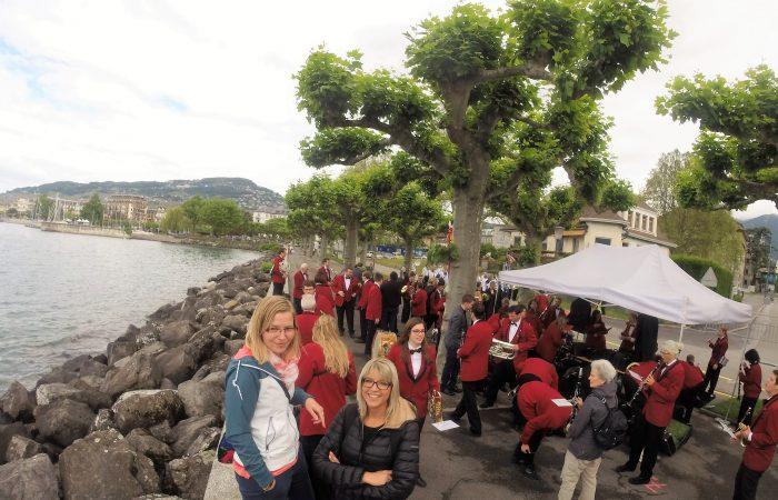 Montreux 2016: Die MGW wartet auf die Marschmusik