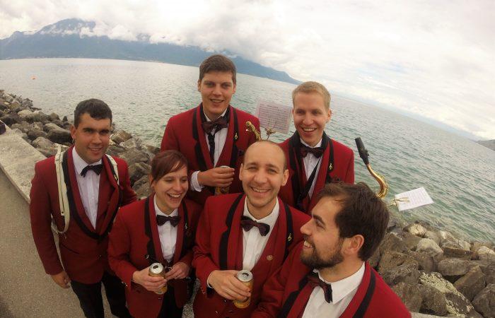 Montreux 2016: Bier nach der Marschmusik