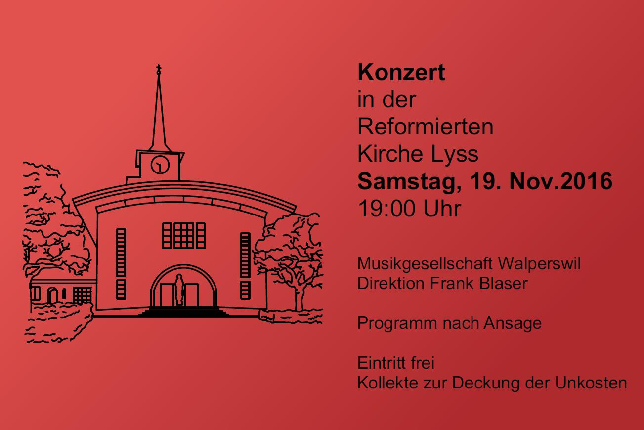 Kirchenkonzert Lyss