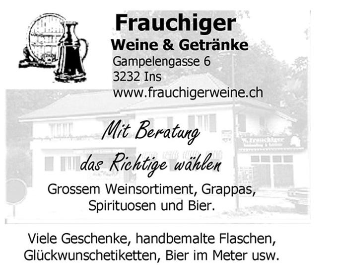 Werbung Frauchiger