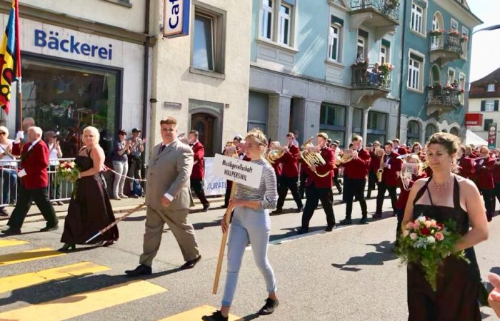 Marschmusik MGW in Laufenburg