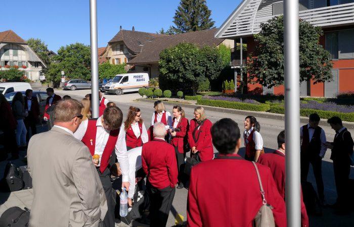 MGW auf dem Weg nach Laufenburg