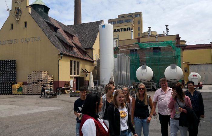 MGW bei der Brauerei Ganter.