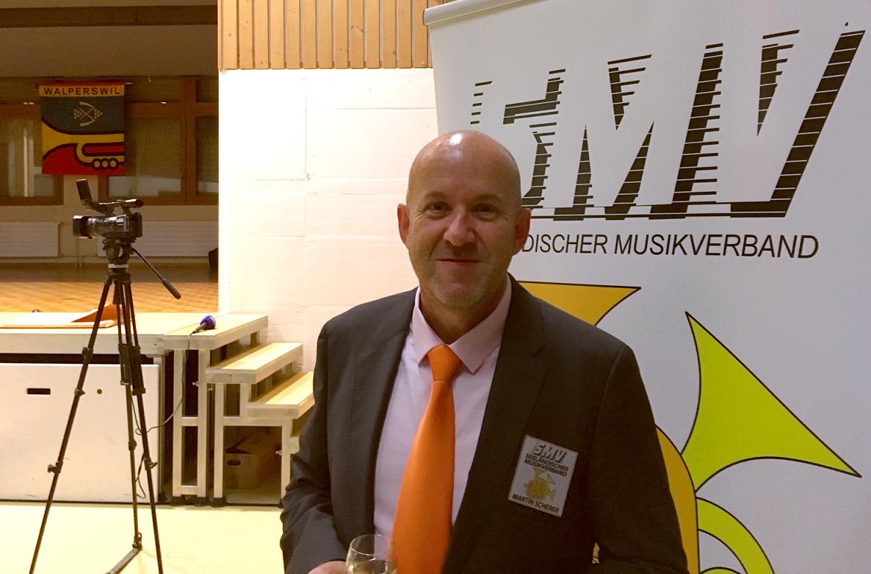 Martin Scherer wird zum Präsident des SMV gewählt