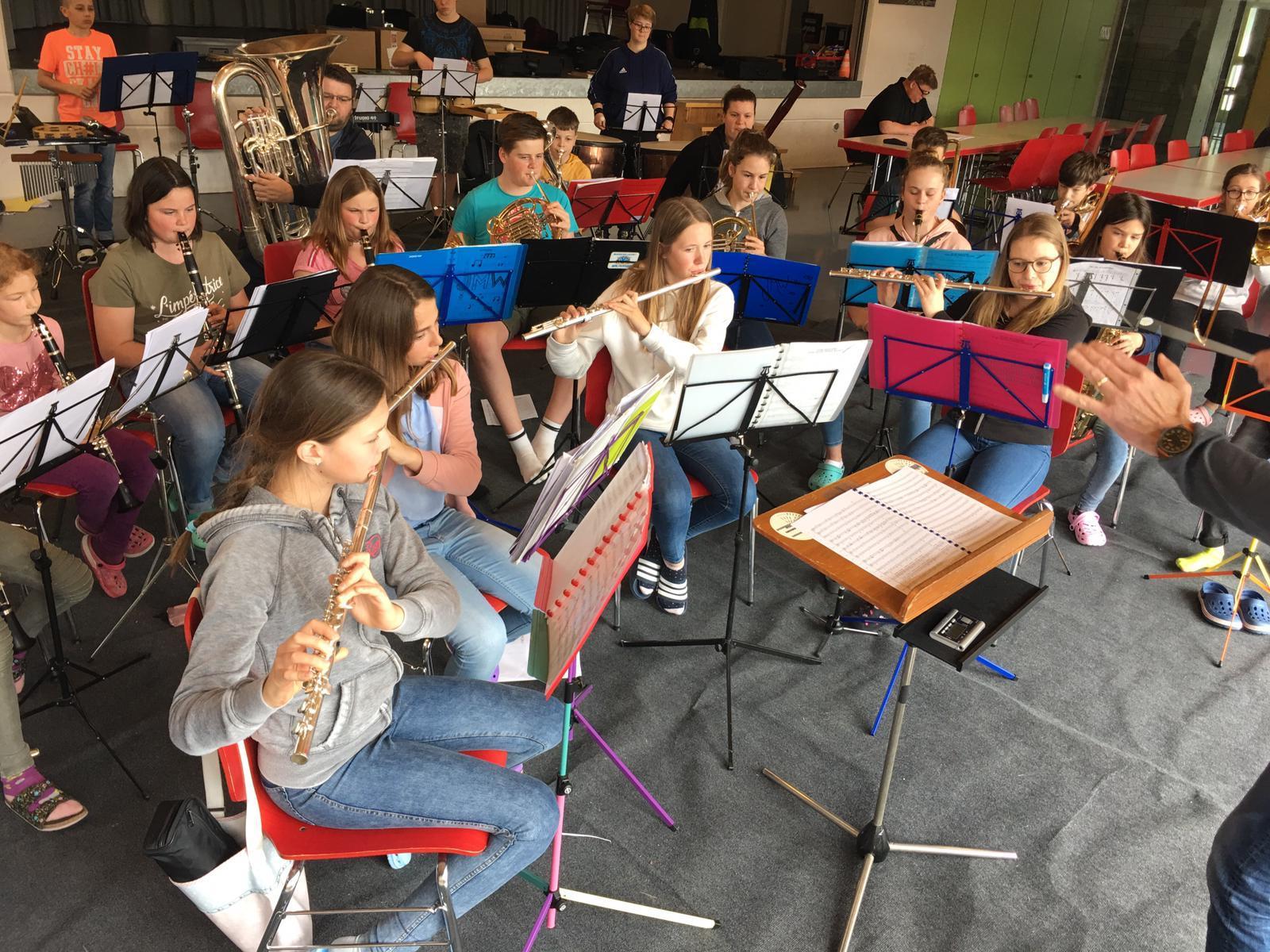 Jugendmusik-Lager 2019
