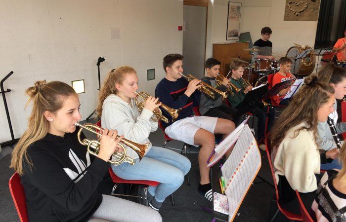 Jugendmusik-Lager 2019 Trompetenregister