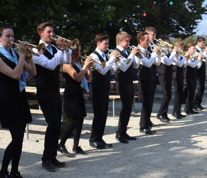 BML Talents spielen neben der Bühne an der Schopf-Chiubi - Foto by Manja Zeigmeister